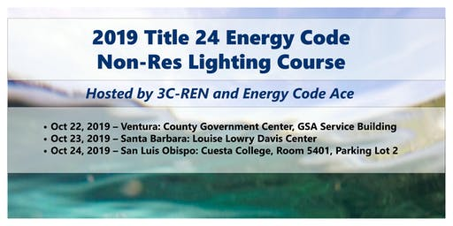FREE - 2019 Energy Code  NR Lighting for Building Professionals - SLO