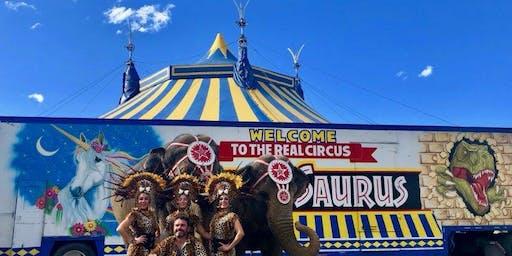 Carson & Barnes Circus Presents CircusSaurus - Crosby, TX