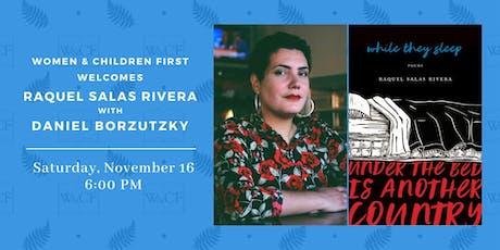 Poetry Reading: Raquel Salas Rivera with Daniel Borzutzky tickets