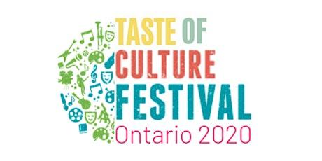 Ontario Taste of Culture Festival tickets