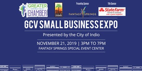 GCV Small Business Expo Presented by the City of Indio tickets