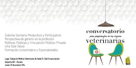 Conversatorio para Profesionales de las Ciencias Veterinarias entradas