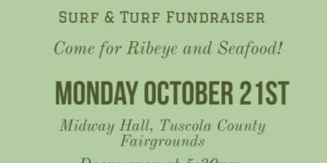 Surf and Turf Dinner Fundraiser