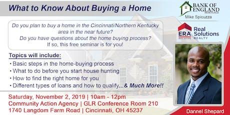 First-Time Home Buyer Seminar for Greater Cincinnati & Northern Kentucky tickets
