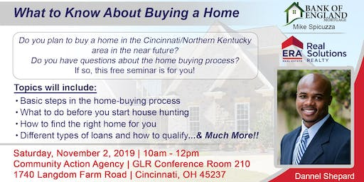 First-Time Home Buyer Seminar for Greater Cincinnati & Northern Kentucky