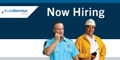 Hiring Security Officers in Naperville, IL - Job Fair tickets