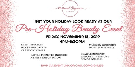 Pre-Holiday Beauty Event tickets