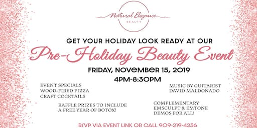 Pre-Holiday Beauty Event