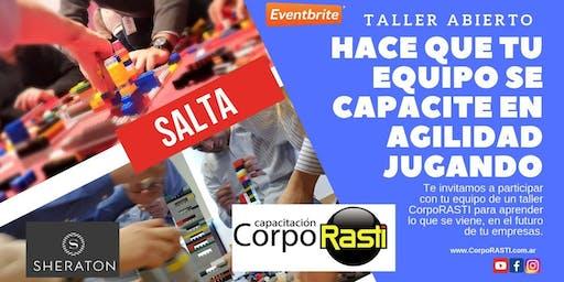Taller Abierto CorpoRASTI en Metodologias Agiles... Mindset AGILE