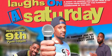 Laughs on a Saturday tickets