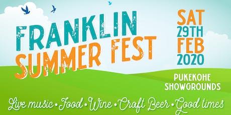 Franklin Summer Fest tickets