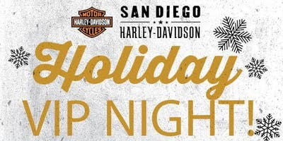 VIP Shopping Event at San Diego Harley!