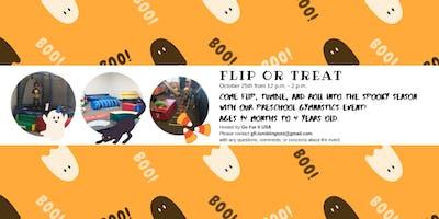 Flip or Treat - Halloween Gymnastics Event