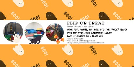 Flip or Treat - Halloween Gymnastics Event tickets