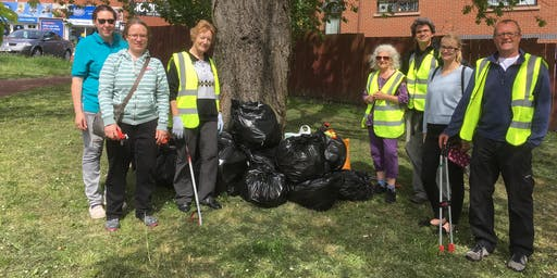 Monthly Litter Pick in South Gosforth - October 2019