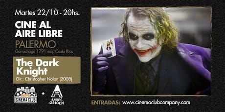 Cine al Aire Libre: EL CABALLERO DE LA NOCHE (2008) -  Martes 22/10 entradas
