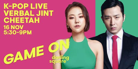 K-POP LIVE feat. Cheetah and Verbal Jint tickets