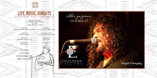 Eddie Guzman live  at Engelmann Cellars