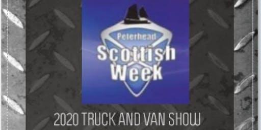 Peterhead Scottish Week Truck and Van Show 2020