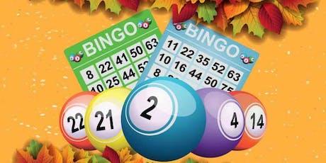 Fall Harvest Designer Bag Bingo tickets