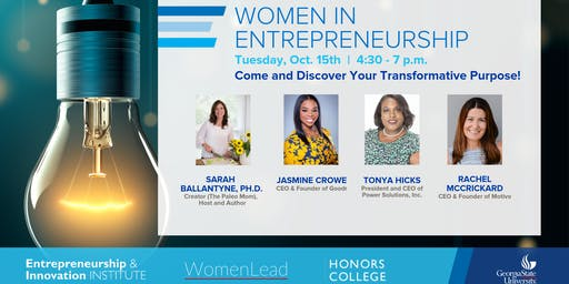 Women in Entrepreneurship | Fall 2019