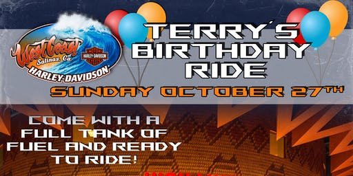 Terry's Birthday Ride to Tachi Palace!