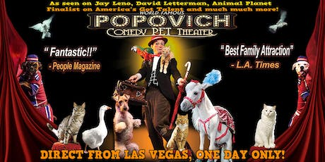 Etna - World Famous Popovich Comedy Pet Theater tickets