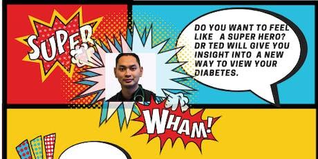 Diabetes- Super Hero tickets