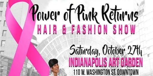 P.O.P Breast Cancer Awareness Hair & Fashion Show