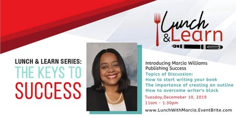 Publishing Success Lunch and Learn with Marcia Williams tickets