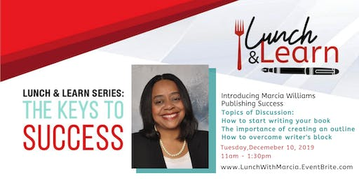 Publishing Success Lunch & Learn with Marcia Williams