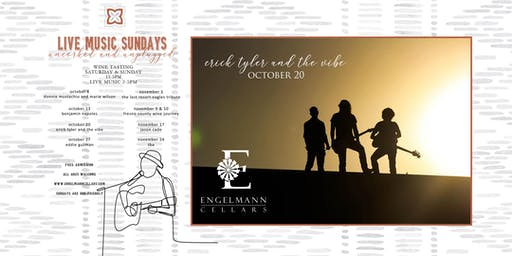 Erick Tyler and The Vibe at Engelmann Cellars