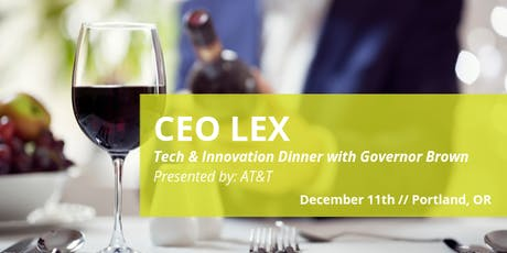CEO Leadership Exchange: Tech & Innovation with Governor Brown tickets