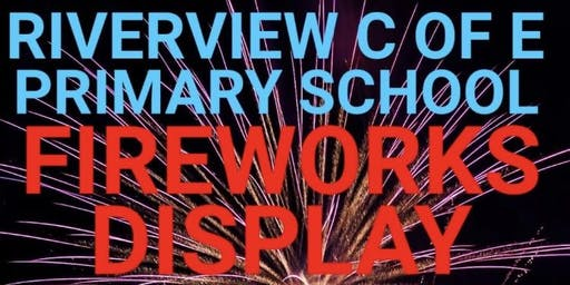 Riverview Primary School Fireworks 2019