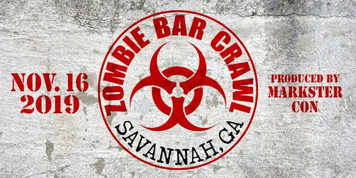Zombie Bar Crawl (Savannah, GA)