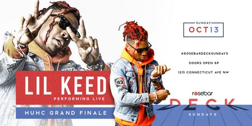 LIL KEED PERFORMING LIVE FOR THE ROSEBAR DECK SUNDAYS DAY PARTY FINALE  (@FORWARDSOCIETY)