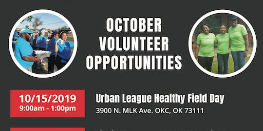 RSVP TO VOLUNTEER: Urban League Healthy Field Day