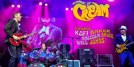 THE MUSIC OF CREAM - DISRAELI GEARS TOUR tickets