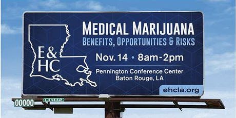 Medical Marijuana: Benefits, Opportunities and Risks tickets