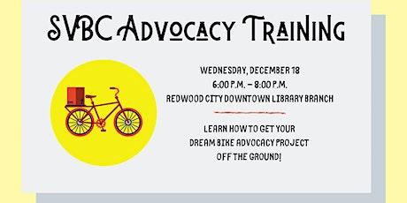 SVBC Advocacy Training tickets