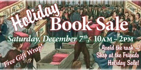 Friends of SCPL Holiday Book Sale tickets