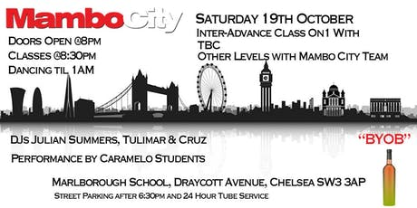 Mambo City Monthly Saturday  tickets