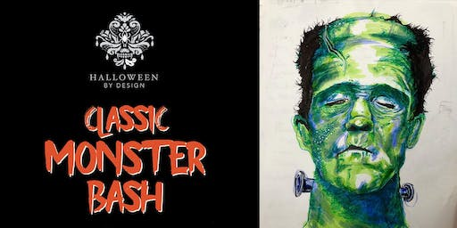 Halloween By Design - Classic Monster Bash
