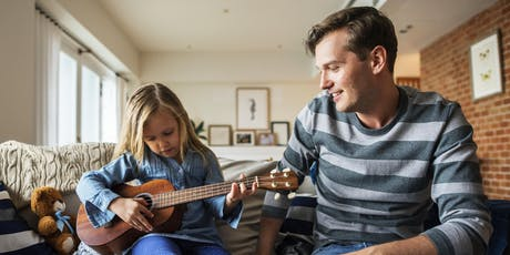 HOLIDAY 4-Week Ukulele Course for Youth and Family  tickets