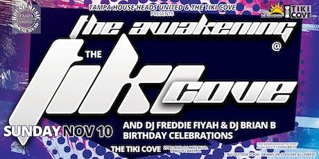 The Awakening at the Tiki Cove tickets