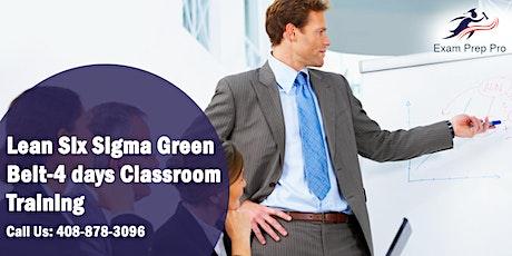 Lean Six Sigma Green Belt(LSSGB)- 4 days Classroom Training, San Diego, CA tickets