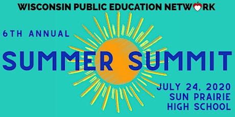 Wisconsin Public Education Network Summer Summit 2020 tickets
