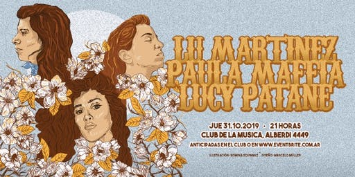 Paula Maffía, Lucy Patané y Lu Martínez en Ballest