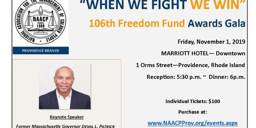 NAACP Providence 106th Freedom Fund Gala