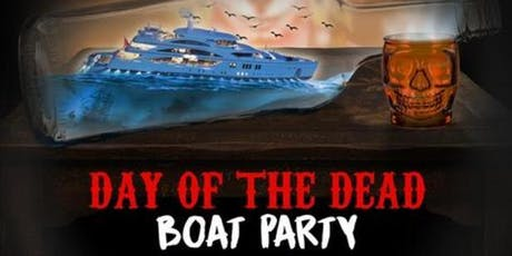 DIA DE LOS MUERTOS HALLOWEEN BOAT PARTY CRUISE  NEW YORK CITY VIEWS  OF STATUE OF LIBERTY tickets